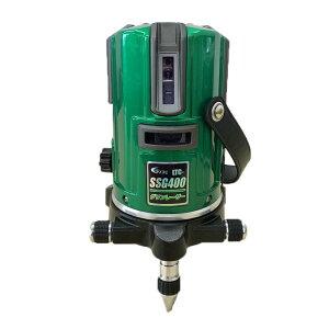 テクノ販売 [2019年モデル]グリーンレーザー墨出し器 LTC-SSG400(縦2方向矩・横120°水平ライン・地墨・鉛直十字) ◆