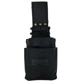 KNICKS ニックス BA-201VADX 全天候型バリスティック生地小物腰袋 オールブラックタイプ ◆