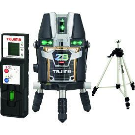 あす楽対応 タジマデザイン フルラインブルーグリーンレーザー墨出し器 ZEROBL-KJCSET(受光器・三脚セット)(矩十字・横全周)(リチウム電池タイプ)