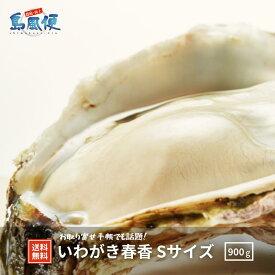 【送料無料】いわがき春香Sサイズ5個セット 約 900g 生食 岩ガキ 岩がき 岩牡蛎 牡蠣 牡蛎 生牡蠣 生牡蛎 冷凍 殻付き 産地直送 旬 ギフト 贈答用 母の日 父の日 御礼 お返し