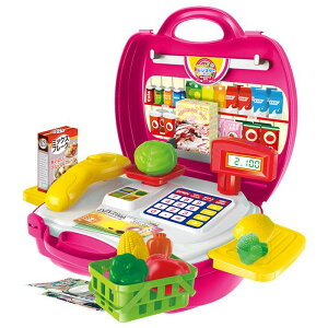 子供用玩具 なりきりごっこあそびセット なりきりレジスターセット 男の子 女の子 おままごと レジ プレゼント 送料無料