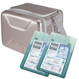 ロゴス(LOGOS) クーラーボックスと保冷剤セット/ハイパー氷点下クーラーL & 倍速凍結・氷点下パックL×2個 セット 81660641&81670080 送料無料【P10】
