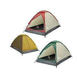 2人用ドームテント 組立式 キャンプ ツーリングテント アウトドア HAC2115 HAC2114 送料無料