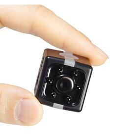 小型カメラ ミニカメラ レックキューブ アクションカメラ ウェアラブルカメラ マイクロSD HAC2288 送料無料