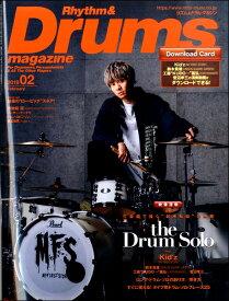 雑誌 リズム&ドラムマガジン 2019年2月号 / リットーミュージック