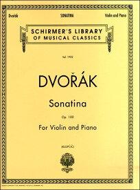 楽譜 VNS443 輸入ドヴォルザーク/ヴァイオリンとピアノのためのソナチネ / ロケットミュージック