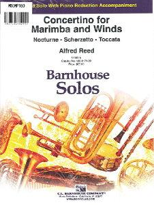 楽譜 MSOMP160 輸入 マリンバと吹奏楽のためのコンチェルティーノ(アルフレッド・リード)(マリンバ+ピアノ) / ミュージックエイト