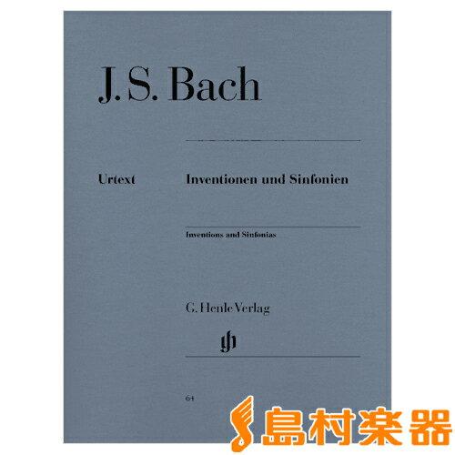 (64)バッハ インヴェンションとシンフォニア / ヘンレー 【メール便なら送料無料】 【鍵盤楽器譜】