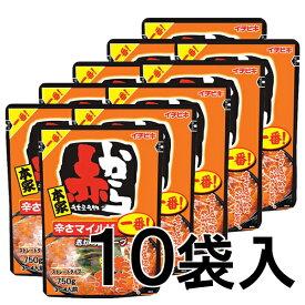 【 赤から鍋スープ 一番 750g×10袋 ストレートタイプ 】 赤から 鍋 スープ 1番 鍋の素 鍋のもと イチビキ 送料無料