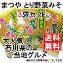 【とり野菜みそ200g×3袋】 とり野菜みそ 味噌 お試し まつや 200g 3袋セット メール便対応 送料無料