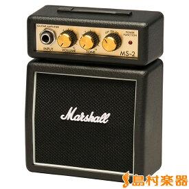 Marshall MS-2 ブラック ギターアンプ ミニアンプ 【マーシャル MS2】