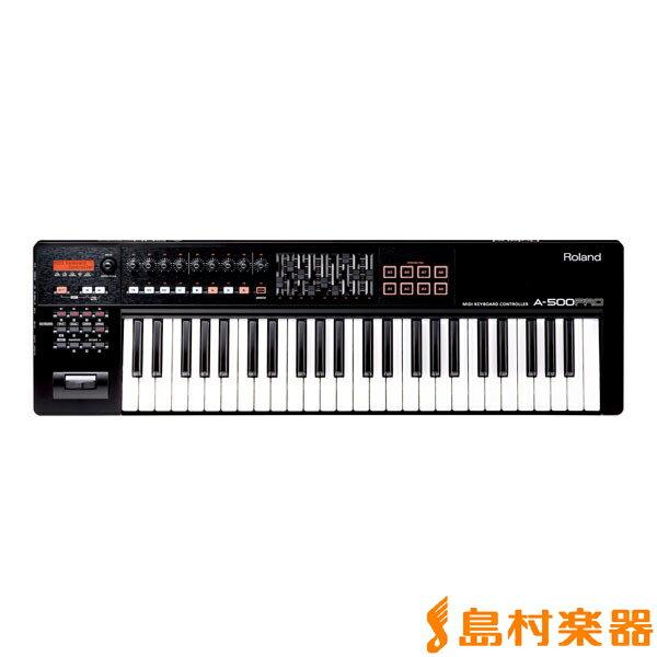 Roland A-500PRO MIDIキーボード コントローラー 49鍵盤 【ローランド A500PRO】