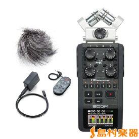 ZOOM H6 + APH-6 セット ハンディレコーダー アクセサリパッケージセット 【ズーム H6 + APH6】
