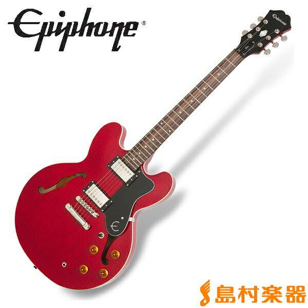 Epiphone Dot Cherry ドット セミアコ エレキギター 【エピフォン】
