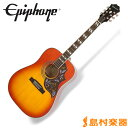 Epiphone Hummingbird PRO Faded Cherry Burst ハミングバード アコースティックギター エレアコギター 【エピフォン】