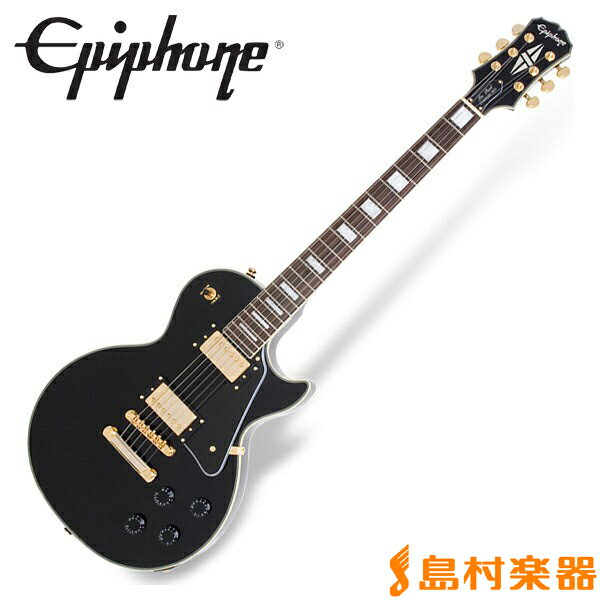 Epiphone Les Paul Custom PRO Ebony レスポール カスタム エレキギター 【エピフォン】