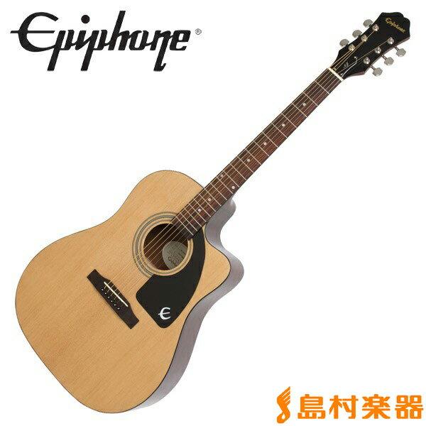 Epiphone AJ-100CE Natural エレアコギター 【エピフォン】