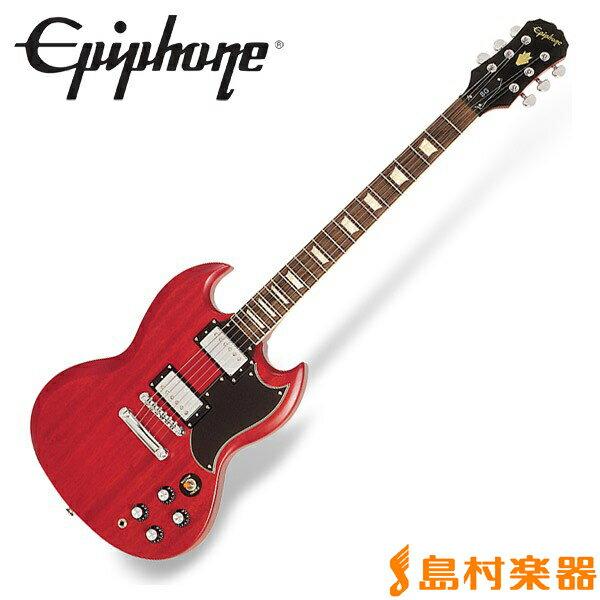 Epiphone Worn G-400 Worn Cherry SG エレキギター 【エピフォン】
