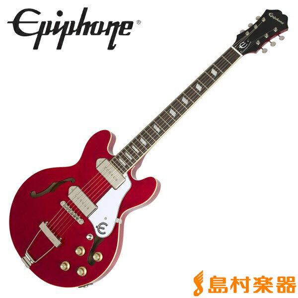 【エントリーでポイント5倍♪ 5/30 23:59迄】Epiphone Casino Coupe Cherry カジノクーペ フルアコ エレキギター 【エピフォン】