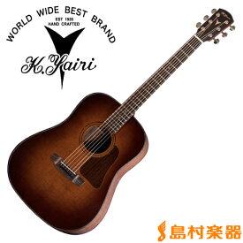 K.Yairi LO-K7OVA アコースティックギター【フォークギター】 Kシリーズ 【Kヤイリ LOK7OVA】