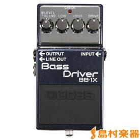 【8/31迄 アダプタープレゼント】 BOSS Bass Driver BB-1X ベースプリアンプ 【ボス BB1X】
