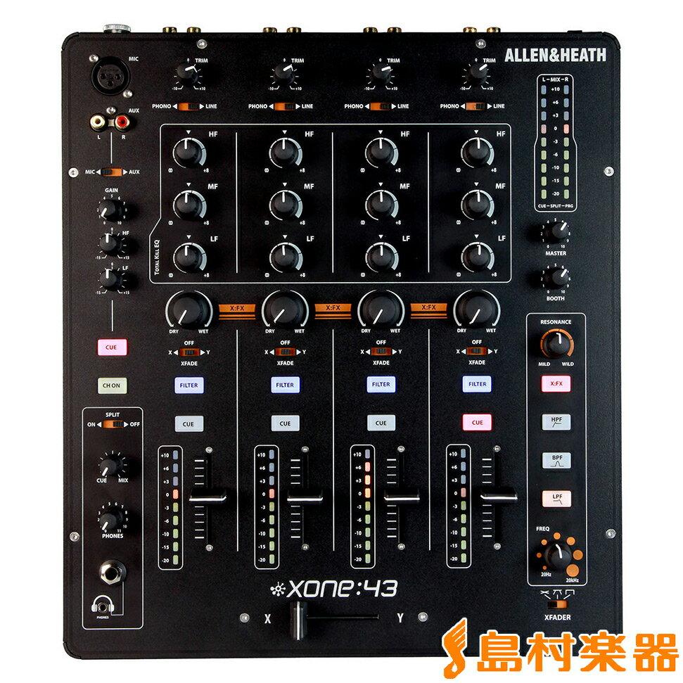 Allen & Heath Xone:43 DJミキサー 【アレン&ヒース】 【国内正規品】