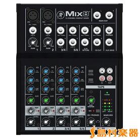MACKIE MIX8 8チャンネル コンパクト ミキサー 【マッキー】