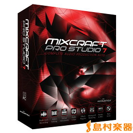 ACOUSTICA Mixcraft Pro Studio 7 楽曲作成ソフト 【アコースティカ】【国内正規品】