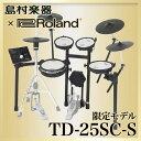 Roland TD-25SC-S 電子ドラムセット 【島村楽器 x Roland コラボモデル】 V-Drums 【ローランド TD25SCS】