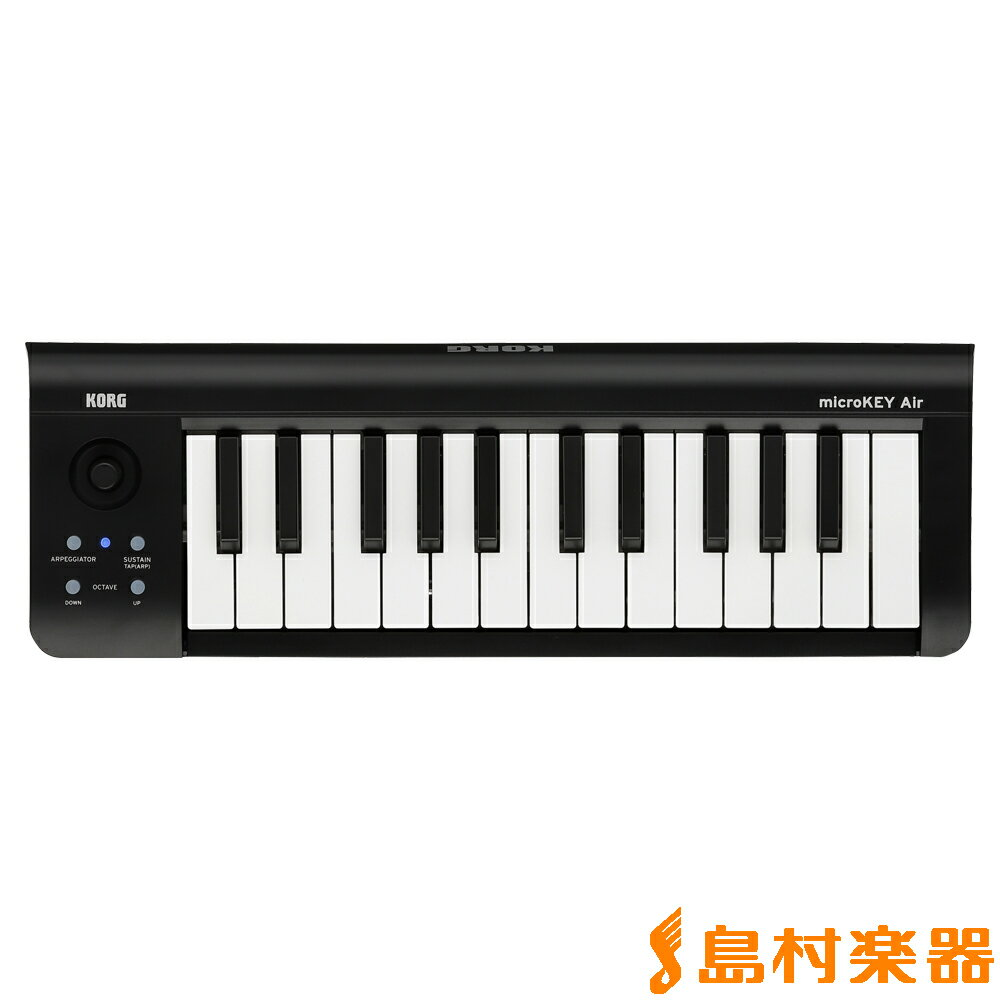 KORG microKEY2-25AIR Bluetooth MIDIキーボード 25鍵盤 【コルグ】