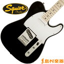 Squier by Fender Affinity Series Telecaster Maple Fingerboard BLK(ブラック) テレキャスター 【スクワイヤー by …