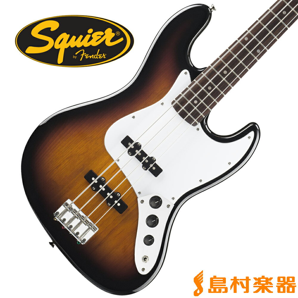Squier by Fender Affinity Jazz Bass Rosewood Fingerboard BSB(ブラウンサンバースト) ジャズベース 【スクワイヤー / スクワイア】