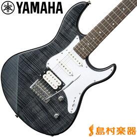 YAMAHA PACIFICA212VFM TBL エレキギター トランスルーセントブラック 【ヤマハ パシフィカ PAC212】