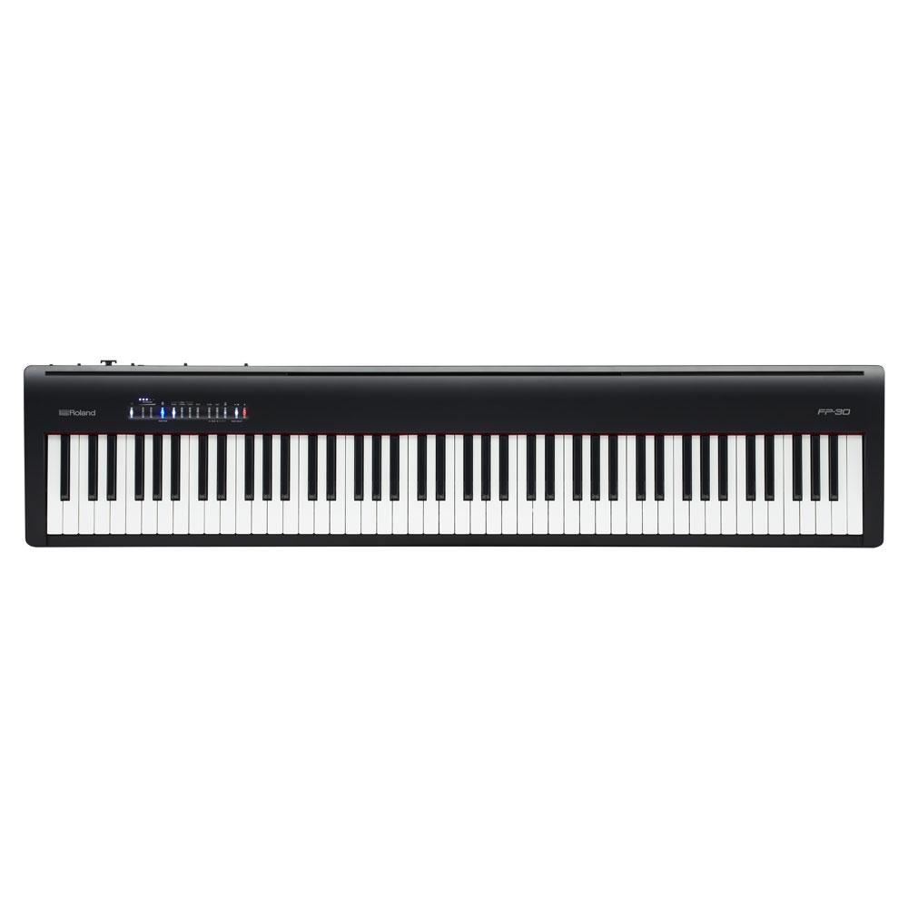 Roland FP-30 ブラック 電子ピアノ 88鍵盤 【ローランド FP30】【別売り延長保証対応プラン:E】