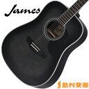 James J-300D TBK(トランスブラック) アコースティックギター 【ジェームス J300D】