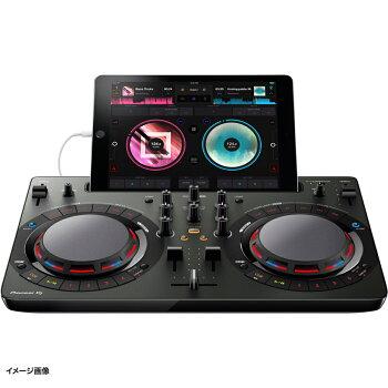 【3/5(月)00:00〜23:59はポイント5倍♪】PioneerDDJ-WeGO4-K(ブラック)DJコントローラー【パイオニアDDJWeGO4K】