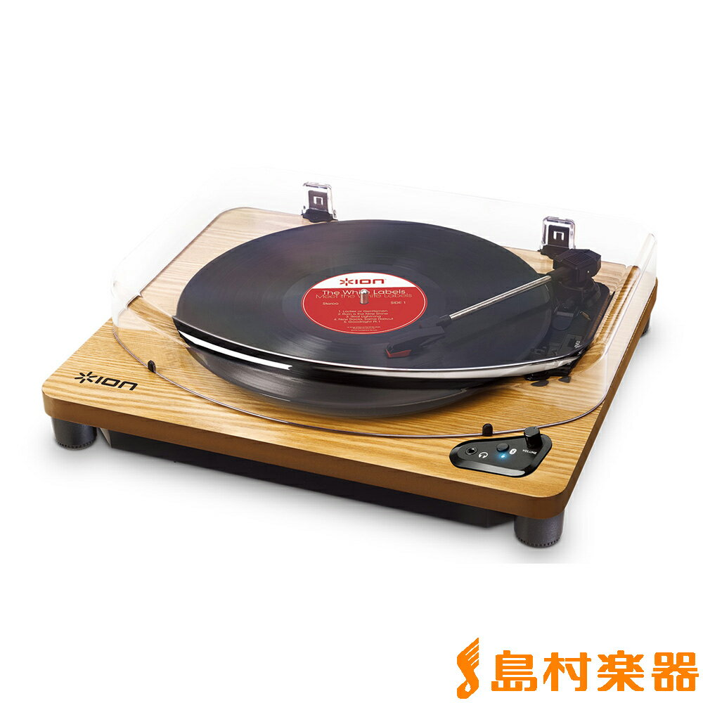 ION AUDIO Air LP WD Bluetooth対応 ターンテーブル レコードプレーヤー 【アイオンオーディオ】