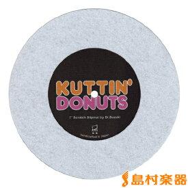 Dr.SUZUKI Kuttin' Donuts 7' Slipmat White 7インチ用スリップマット 【ドクター鈴木 DSS-7KUT-WH】