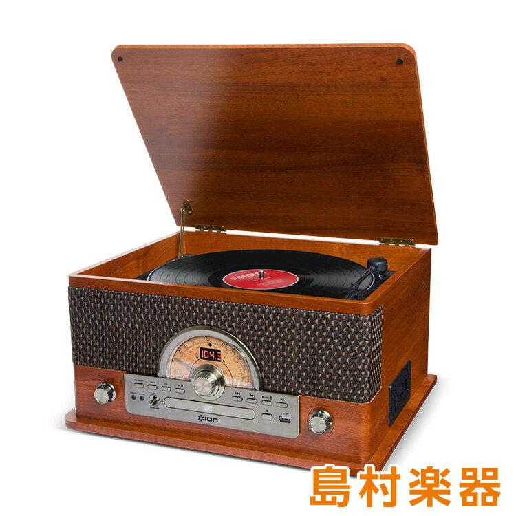 ION AUDIO Superior LP レトロ調 レコードプレーヤー Bluetooth対応 【 カセットテープ / CD / ラジオ / USB 】対応 【アイオンオーディオ】