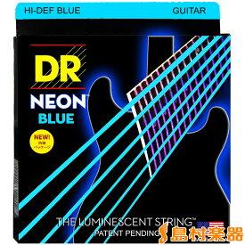 DR NBE-9 BLU エレキギター弦/009-042 ネオンブルー