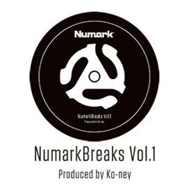 Numark Breaks Vol.1 バトルブレイクス 7インチ レコード 【ヌマーク NU-REC-001】