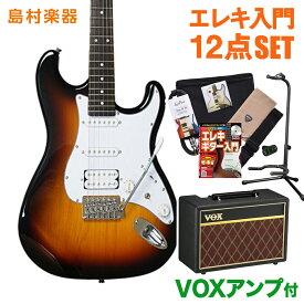 BUSKER'S BST-3H 3TS VOXアンプセット エレキギター 初心者 セット 【バスカーズ】