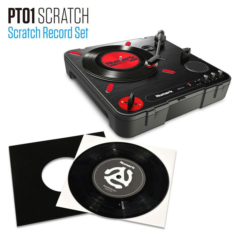 Numark SCRATCH RECORD SET ターンテーブルセット 7インチ レコード 【ヌマーク NU-SET-021】