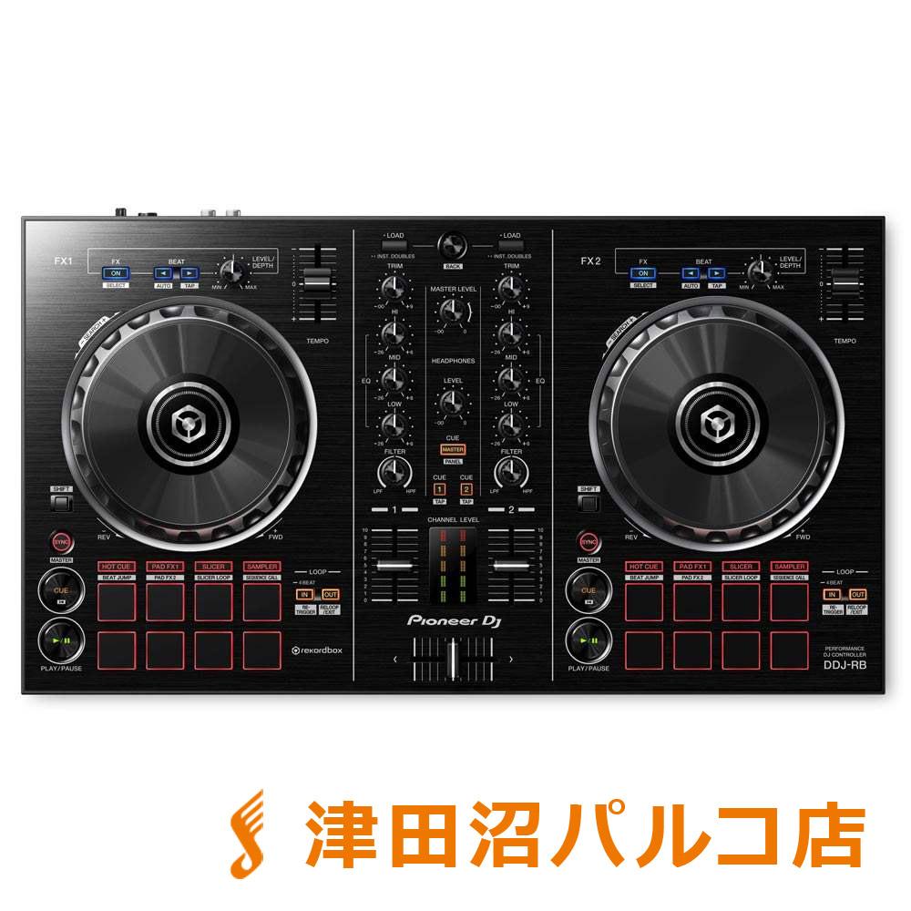 Pioneer DDJ-RB DJコントローラー rekordbox DJ 対応 【パイオニア DDJRB】【津田沼パルコ店】
