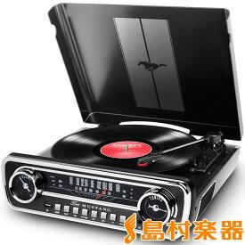 ION AUDIO Mustang LP BLACK(ブラック) USBレコードプレーヤー 【アイオンオーディオ】
