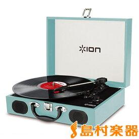 ION AUDIO VINYL TRANSPORT BLUE 水色 レコードプレーヤー 【アイオンオーディオ】