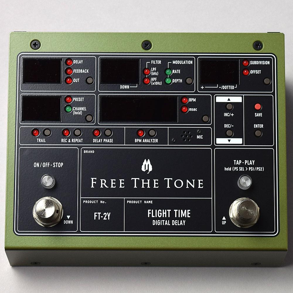 FREE THE TONE FLIGHT TIME FT-2Y デジタルディレイ(Digital Delay) 【フリーザトーン】【福岡イムズ店】