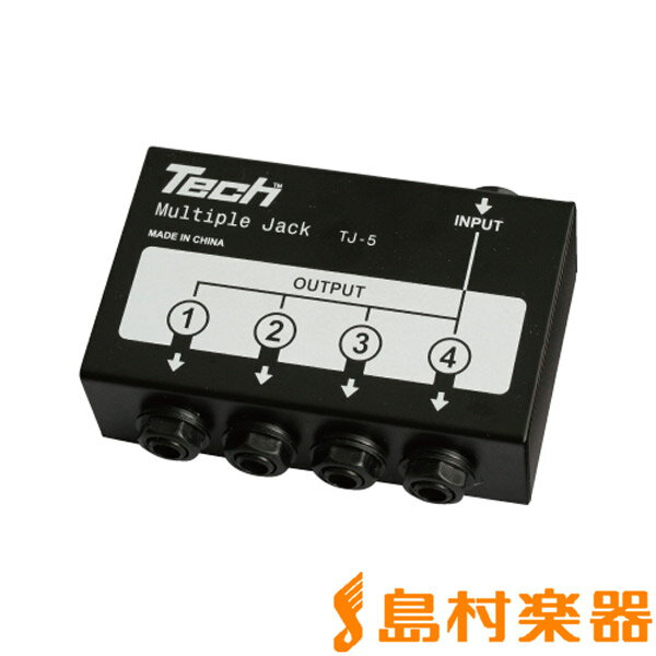 Tech TJ5 MULTIPLE JACK 【テック】