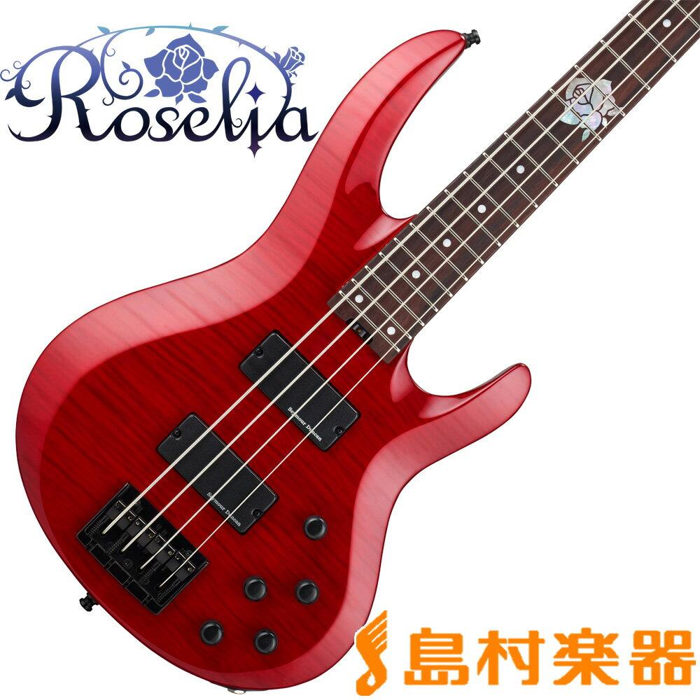 ESP BTL ROSELIA LISA ESP×バンドリ! ロゼリア 今井リサモデル ベース BanG Dream! 【受注生産 納期7ヶ月程度 ※注文後のキャンセル不可】