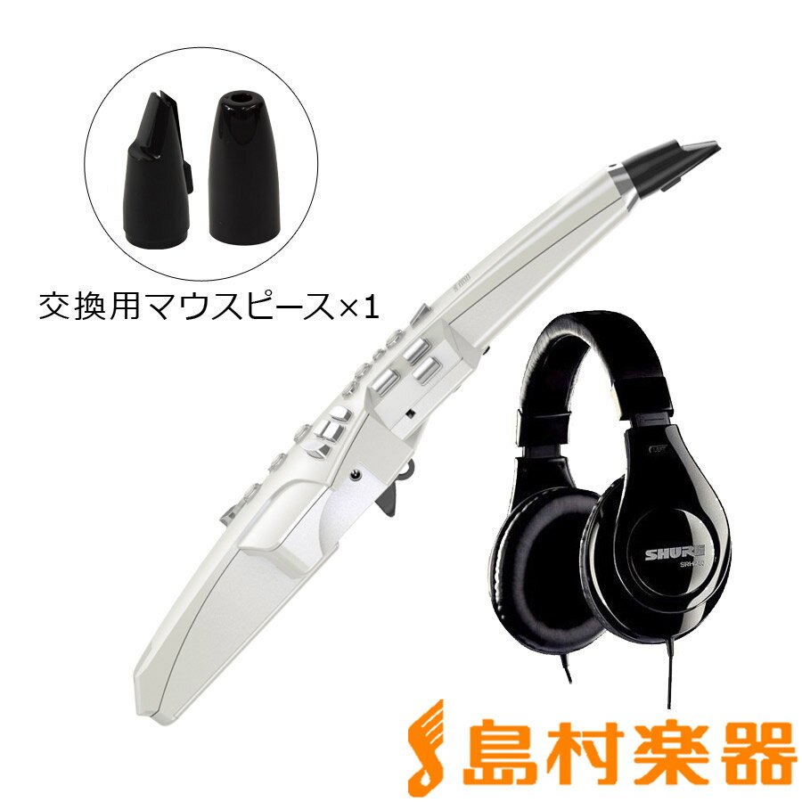 Roland Aerophone AE-10 サイレントセット (ウインドシンセサイザー + ヘッドホン + OP-AE10MP 交換用マウスピース[ソフトタイプ]) 初心者セット 【ローランド AE10】